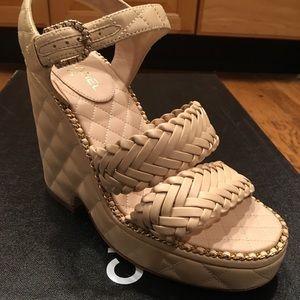 CHANEL. Sandals